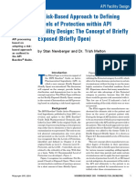 Defining Levels of Protection Within API Facility Design