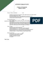 Ateneo Paraguayo Criterios