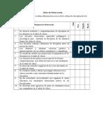 Ejemplos de Ficha de Observacion
