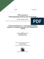 Designing, Evaluating, And Validating SOP Training