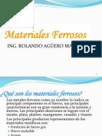 Materiales Ferrosos - exposición