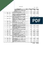 Analisis precio unitario casa