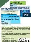 EXPOSICION 7.TIPOS ORGANIZACION.ppt