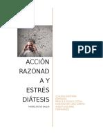 Acción Razonada y Estrés Diátesis