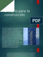 El Vidrio Para La Construcción