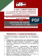Presentacion Plataforma de Talleres Cerrados Contratistas Rev.0