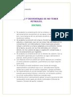 ventajas y desventajas no tener petroleo.docx