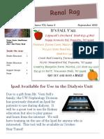 dialysis newsletter september 2016
