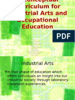 A Conceptual Curriculum for Industrial Arts and Occupational