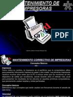MANTENIMIENTO DE IMPRESORAS