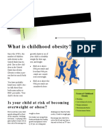 childhood obesity newsletter