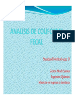 Analisis de Coliforme Fecal [Modo de Compatibilidad]