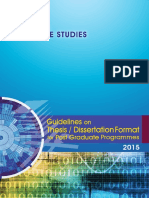 Guideline Thesis 2015