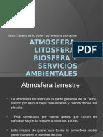 Atmosfera Litosfera Biosfera y Servicios Ambientales
