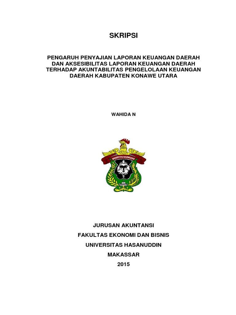 Skripsi Lengkap Feb Akuntansi Wahida N Pdf Sequence 1
