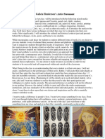 artist statement pdf amber