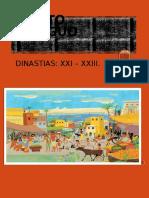 Dinastias Xxi Xxiii