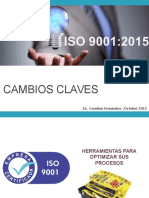 seminario cambios Clave ISO 9001 2015