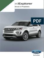 manual de propietario Ford Explorer