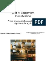 Equipment Identification