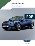 manual de propietario Ford Focus Sedan Manual