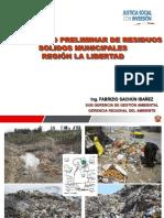 Residuos Solidos Region La Libertad
