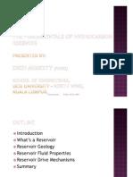 Microsoft Power Point - The Fundamentals of a Hydrocarbon Rservoir