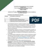 Acuerdo de Evaluaciön Organizaciön y Participacion Comunitaria