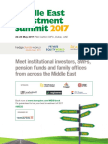 Middle East Investment Summit 2017 Brochure