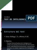 Test de Inteligencia Beta III
