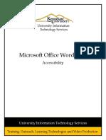 Word 2013 Accessability Rev