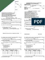 HPM Model I Question Paper