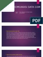 Sistem Komuikasi Data Gsm