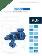 WEG Weg Metric Motors General Purpose and Atex Usametricmo Brochure English