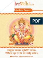 Sample Life report by www.astrovidhi.com