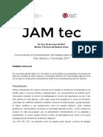 Jam Tec 2017 Primera Circular
