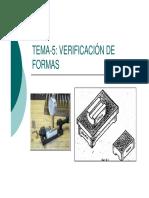 Tema 6.2 Verificación de Formas