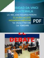 Presentacion 01-04-2016Tecnicas para el debate.pptx