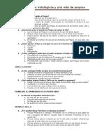 Examen 11 Relatos Mitológicos