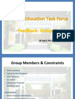 feedback group 2 - april 2017