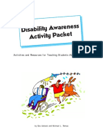 disability awareness packet