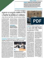 Andrea Graziosi fa il pieno all'Università - Il Resto del Carlino del 4 maggio 2017