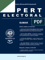 Revista Expert Electoral Nr 6