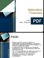 Aula 02 de 10 - Matemática Financeira (04-03-10)