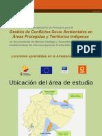 Conflictos Areas Protegidas Territorios Indigenas