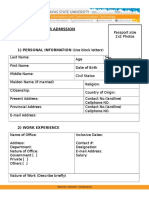 IICT MIT Application Form