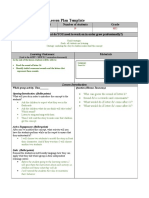 lesson plan template  sound h