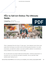 How to Sell Art Online_ the Ultimate Guide