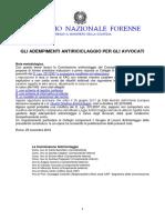 Gli Adempimenti Antiriciclaggio Per Gli Avvocati 2017