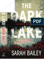 The Dark Lake by Sarah Bailey (Extract)